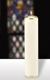 Plain Pillar Tube Candle (3 inch x 13 inch)