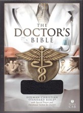 HCSB Doctor's Bible, Black Bonded Leather
