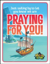Mystery Island: Praying For You Postcards (pkg. of 40)
