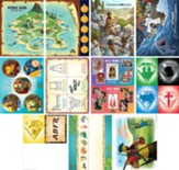 Mystery Island: Pre-Primary and Toddler Illustration Posters (pkg. of 11)