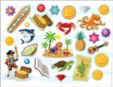 Mystery Island: Stickers (pkg. of 10)