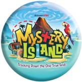 Mystery Island: Logo Button (pkg. of 10)