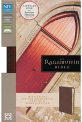 NIV Ragamuffin Bible: Meditations for the Bedraggled, Beat-Up, and Brokenhearted, Italian Duo-Tone, Acorn