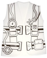 Mystery Island: Color-Your-Own Dive Vest