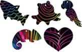 Mystery Island: Scratch Art Set (pkg. of 10)