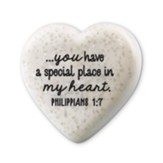 Place in My Heart - Heart Stone, Philippians 1:7