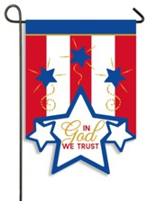In God We Trust Flag, Small