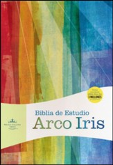 Biblia de Estudio Arco Iris RVR 1960, Piel Simil Multicolor  (RVR 1960 Rainbow Study Bible, Multicolor LeatherTouch)