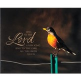Sing to the Lord, Bird, Wall Plaque