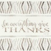 In Everything Give Thanks Wall Plaque