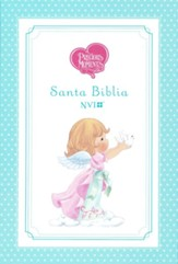 Santa Biblia Precious Moments NVI, Angelitos, Ultrafina Compacta Aqua (Teal Angels, Thinline Compact)