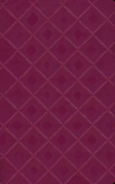 NIV Quilted Collection Bible, Italian Duo-Tone, Plum