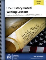U.S. History-Based Writing Lessons Student Book Only (2nd Edition)