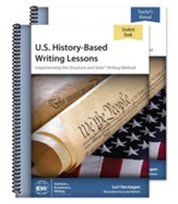 U.S. History-Based Writing Lessons Teacher/Student Combo (2nd Edition)