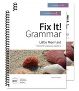 Fix It! Grammar Book 4: Little  Mermaid (Teacher/Student Combo)