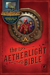 NLT The Aetherlight Bible: Chronicles of the Resistance, Softcover - Slightly Imperfect