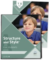 Structure and Style for Students: Year 1 Level A  (Binder and Student Packet)