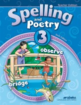 Spelling & Poetry 3 Teacher's Edition