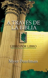 A traves de la Biblia: Libro por libro - eBook