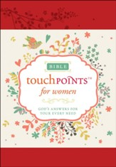 Bible TouchPoints for Women: God's Answers for Your Every Need, Soft Imitation Leather
