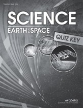 Science: Earth and Space Quizzes Key