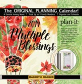 2019 Multiple Blessings Plan-It Plus Wall Calendar