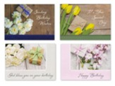 Gifts of Love Birthday Cards, Box of 12