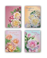 Roses Encouragement Cards, Box of 12
