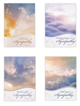 Beyond the Clouds Sympathy Cards, Box of 12