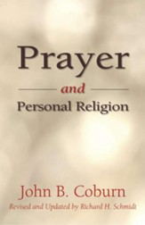 Prayer and Personal Religion - eBook
