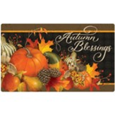 Fruits of Fall, Autumn Blessings Door Mat