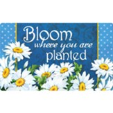 Bloom Where You Are Planted, Floor Mat