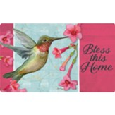 Bless This Home (hummingbird), Floor Mat