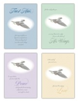 Peace Doves Sympathy Cards, Box of 12