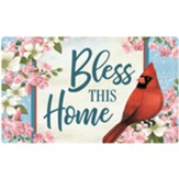Bless This Home, Cardinal and Blossoms, Mat