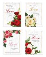 Love in Bloom, Wedding Boxed Cards (KJV)