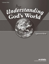 Understanding God's World (Grade 4)  Quiz and Test Book (Unbound Edition)