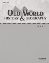 Old World History and Geography  (Grade 5) Test Book (Unbound Edition)