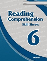 Reading and Comprehension 6 Skill  Sheets (Unbound Edition)