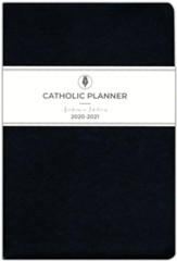 2020-2021 Catholic Planner, Compact Academic Edition, Black