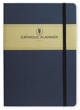 2020-2021 Catholic Planner, Compact Academic Edition, Navy