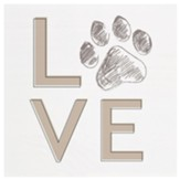 Dog Love Block Art