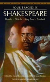 Four Tragedies: Hamlet, Othello,  King Lear, Macbeth - eBook