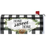 Home Sweet Home, Gingham, Mailbox Cover