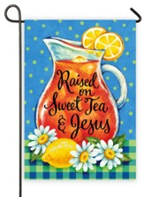 Raised on Sweet Tea & Jesus Flag, Small