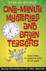 One-Minute Mysteries and Brain Teasers: Good Clean Puzzles for Kids of All Ages - eBook