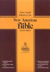 New American Bible, A Saint Joseph Edition, Giant 14-Point Type