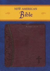 New American Bible, Burgundy, St. Joseph Edition, Imitation Leather, Burgundy