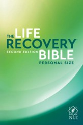 NLT Life Recovery Bible, Personal Size - Slightly Imperfect