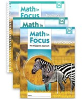 Math in Focus: The Singapore Approach Grade 5 First Semester Homeschool Package